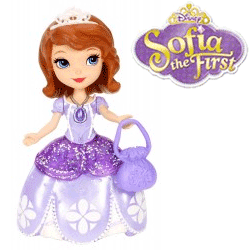 Papusa mica Sofia The First - 25 RON