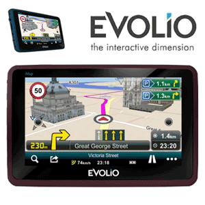 GPS auto EVOLIO MINI Full Europa Harta Romaniei inclusa