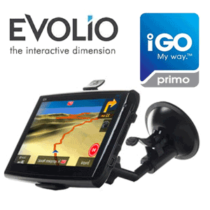 Sistem GPS Auto Evolio Primo 2 instalat include aplicatii multimedia