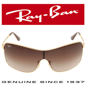 Ochelari de dama Ray Ban Never Hide RB3466 Gradient Bronze