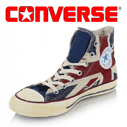 Bascheti Converse All Star UK Flag