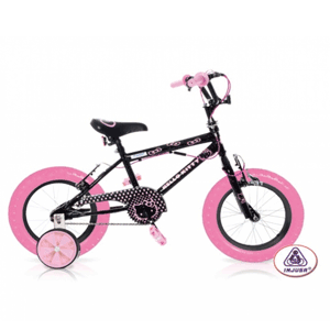 Bicicleta Hello Kitty Black 12 Injusa