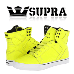 Skate Shoes barbati Supra Skytop Yellow