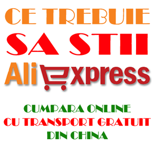 Cumpara fara taxe vamale din China de pe Aliexpress