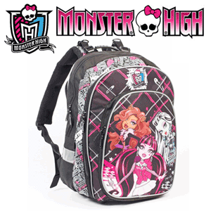 Ghiozdan anatomic ergonomic Monster High
