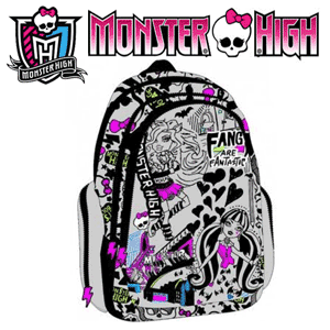 Ghiozdan Monster High Graffiti