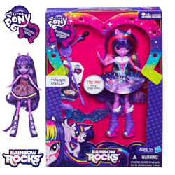 Papusile cantarete Equestria Girls My Little Pony – Rainbow Rocks