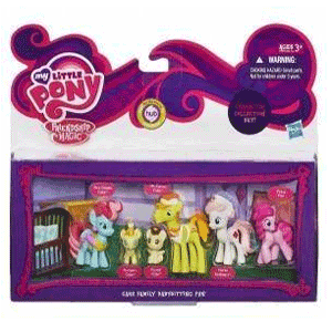 Set mici figurine colectionabile My Little Pony