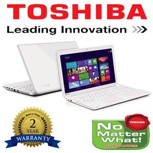 Laptop Toshiba Satellite C55-A-1RK cu procesor Intel® Pentium® Quad-CoreTM N3520 2.16GHz, 4GB, 500GB, Intel® HD Graphics, FreeDOS, White