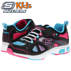 Adidasi fete Skechers Light Ray Lights
