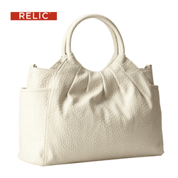 Geanta de mana Relic Willow Ring Satchel de culoare alba