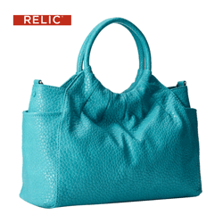 Geanta dama Relic Willow Ring Satchel culoare turcoaz
