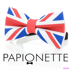 Papion Papionette UK Flag