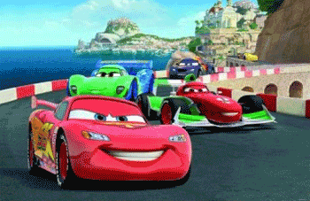 Fototapet Disney Cars