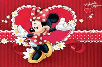 Fototapet Disney Minnie Mouse personajele din Mickey Mouse Clubhouse