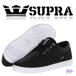 Tenisi smart casual barbati Supra Carver