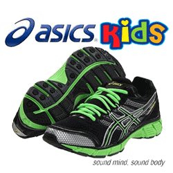 see ASICS Kid's Gel-Havoc GS Running Shoe in Green Colour