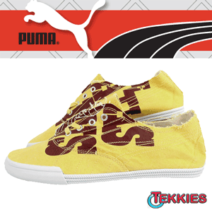 Tenisi barbatesti Puma Tekkies Graphic confectionati din panza