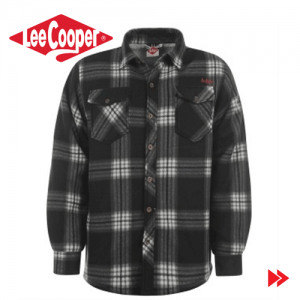 Camasa groasa de iarna Lee Cooper Lined Polar Fleece