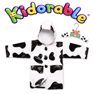 Pelerina de ploaie Cow Kidorable