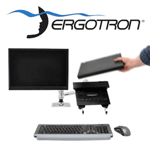 Stand Ergotron 45-248-026 LX Dual Stacking Arm