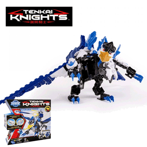 Volt Jet si War Stallion Figurine Tenkai Knights