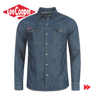Camasa jeans Lee Cooper C Class Denim Shirt42