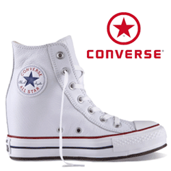 Bascheti Platforme Converse Chuck Taylor All Star White Leather 544927