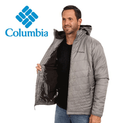 Geaca barbati cu gluga Columbia Mighty Light™ Hooded Jacket - Tall