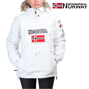 Geaca dama Geographical Norway cu blanita