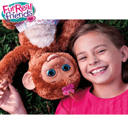 Jucarii electronice interactive FurReal Friends - Maimutica Cuddles My Giggly