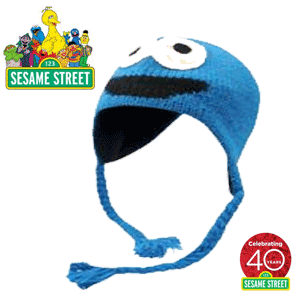 Caciulite personaje Official Sesame Street Knit Hat