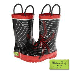 Western Chief Kids Spider Web Rainboot