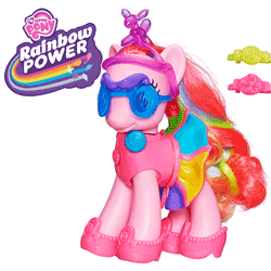 My Little Pony Rainbow Power Pinkie Pie cu Accesorii