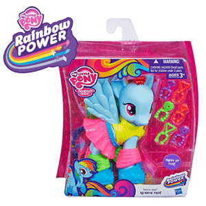 My Little Pony Rainbow Power Rainbow Dash cu Accesorii