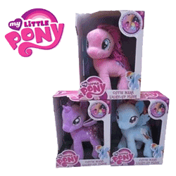 My Little Pony - Plus Luminos Jucarii din plus