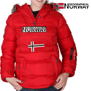 Geaca Geographical Norway captusita, rosie