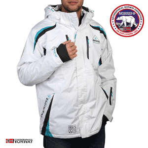 Geaca de schi Geographical Norway Wesc alba