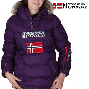 Geaca Geographical Norway Bolide captusita, mov