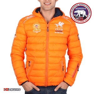 Geaca Geographical Norway Becket orange