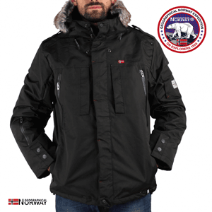 Geaca barbati Geographical Norway Cluses neagra