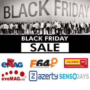 Black Friday Romania 2014 la electronice, electrocasnice & IT