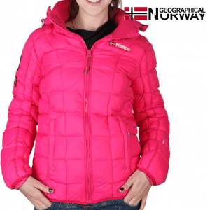 Geaca Geographical Norway Barbara captusita, fucsia