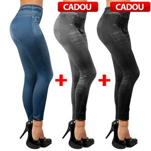 Blugii Slim`n Lift Caresse Jeans din reclama TV mediashop