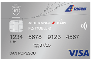 Informatii Banca Transilvania Flying Blue Card