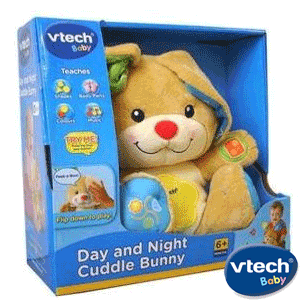 Vtech Cuddle Bunny Day and Night