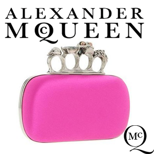 Clutch Alexander McQueen Knuckle Box