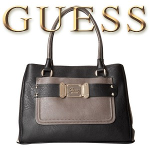 GUESS Drama Queen Girlfriend Geanta Satchel Black
