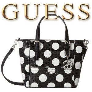 Geanta GUESS Delaney Petite Tote Black