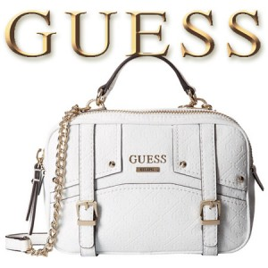 Geanta GUESS Rikki Crossbody Camera Bag White